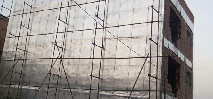 نصب ایزوگام روی دیوار و پشت بام در تهران