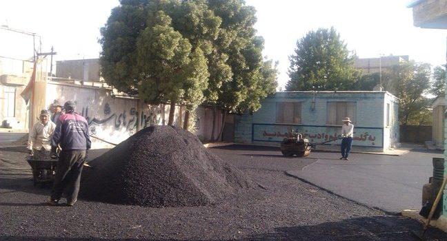 قیمت هر تن اسفالت   اجرای اسفالت در تهران